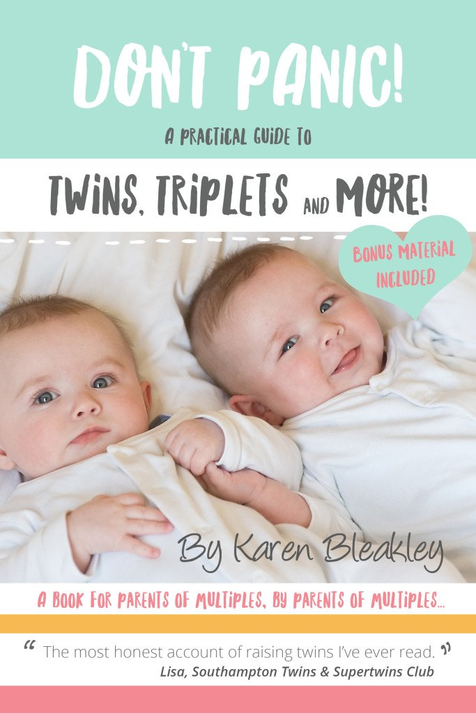 Don't Panic! A Practical Guide to Twins, Triplets and More book cover