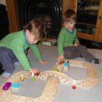 Review: BigJigs Wooden Roadway – Figure of Eight Roadway Set