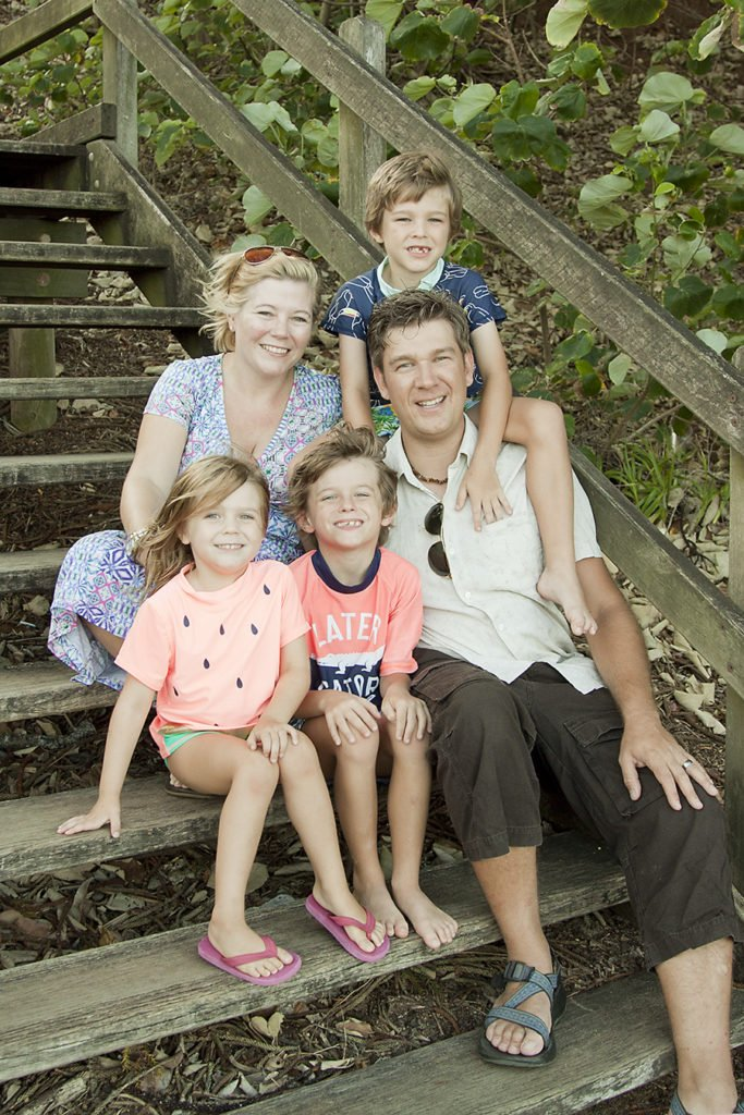 Picture of blog writer Karen Bleakley from Tales of a Twin Mum and her family