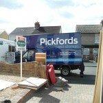 Pickfords moving van