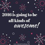 Waving goodbye to 2015 and getting excited about the New Year