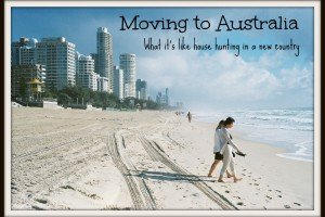 Moving to Australia - picture of some people on a beach