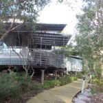 A picture of a villa at Kingfisher Bay - a family resort on Fraser Island in Queensland